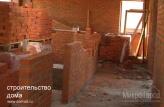 Строительство домов в Краснодаре, кирпичная кладка стен