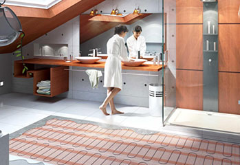 Монтаж систем отопления теплый пол