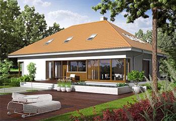 Построить одноэтажный дом с мансардой