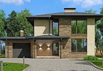 Строительство двухэтажного жилого дома