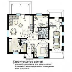 Проект дома DV5