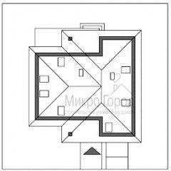 Проект дома DV6