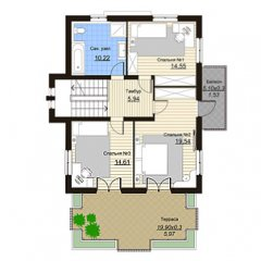Проект дома DV9