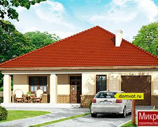 Проект дома DV4