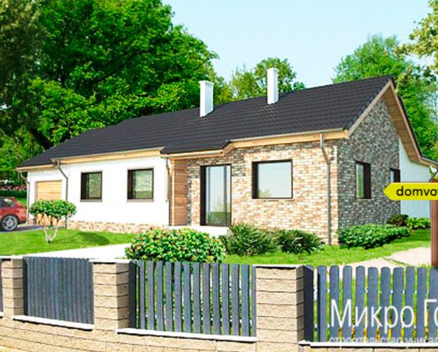 Проект дома DV17